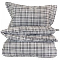 cdac60f6 HOME COUNTRY - TRADITIONAL COTTON CLUB COLLECTION - TETTVEVD GARNFARGET  FLANELL - RUSTIC - GRÅ
